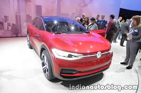 new vw i d crozz concept showcased at iaa 2017 live