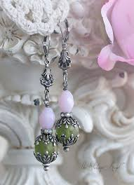Shabby Chic Garden by Shabby Chic Earrings From The Vintage Angel