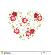 Floral Invitation Card Designs Floral Heart Invitation Card Royalty Free Stock Photo Image