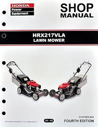 honda hrx217 type amazon com honda hrx217 vla lawn mower service repair shop