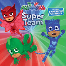amazon super team pj masks 9781481489782 maggie testa