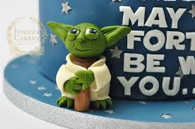 yoda cake topper 40th birthday wars cake juniper cakery bespoke cakes in