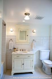 Arts And Crafts Bathroom Lighting Bathroom Vent Fan Light Combo With Craftsman Bathroom With A