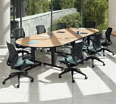 Global Boardroom Tables Global Total Office Connectables Modular Boardroom Table Configuration