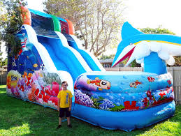 party rentals miami 18ft water slide bounce house rentals in miami fl s