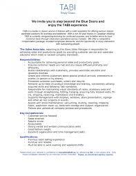 sle sales associate resume resumes gallery of sle resume for clothing retail sales associateil