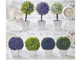 Artificial Topiaries - artificial topiary tree u0026 ball flowers buxus boxwood plants in pot