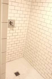 tiles shower floor tile grout sealer cleaning porcelain tile shower floor thumb java tan pebble