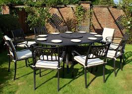 oval patio table 10 seater sets blenheim oval set premium