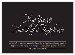 new years wedding invitations wedding invitations new year new together at minted