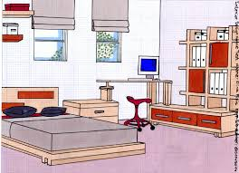 interior design architectural materials tools and blueprints stock