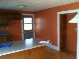 fresh elegant paint color with terracotta tile 11588