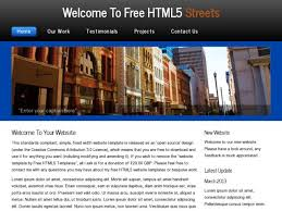 download free website templates from opendesigns org