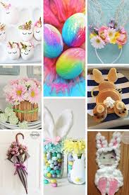 easter decorations ideas diy easter craft ideas and easter decorations slightly sorted
