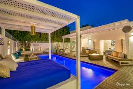 rent greek mediterranean style modern w large pool house