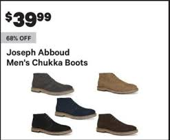 groupon s boots groupon black friday joseph abboud s chukka boots for 39 99