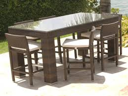 Bar Set Patio Furniture 40 Luxury Scheme Bar Height Patio Table And Chairs Furniture