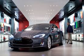 tesla dealership is tesla the ultimate momentum stock fortune