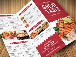 catering brochure sample catering menu template 32 free psd eps