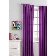 Magenta Curtain Panels Your Zone Microfiber Window Panel Walmart Com