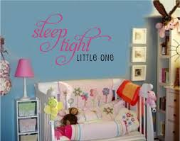 wall decals stickers home decor home furniture diy sleep tight little one vinyl wall decal stickers baby nursery room decor letter