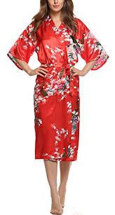 femme de chambre wiki avidlove kimono satin robe de chambre femme longue fleur chemise