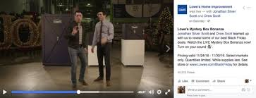 black friday deals lowes lowe u0027s taps facebook live and property brothers hosts for black