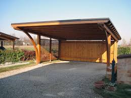 tettoie per auto tettoia per auto di legno lamellare rb02407