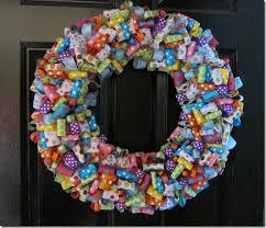ribbon wreath queenie eileenie ribbon wreath tutorial