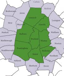 Lexington And Concord Map Extended Afamily Of Wayland We Serve Wayland And Surrounding Areas