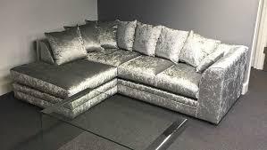 Grey Velvet Sofas Grey Velvet Corner Sofa Velvet Corner Sofa Grey Memsaheb Thesofa