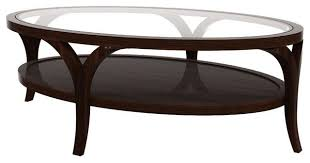 Amazing Oval Glass Coffee Table Oval Glass Coffee Table Full