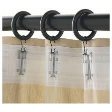 Curtain With Hooks Curtain Hooks Pe Splendid Gallery Portion Ring With