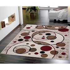 Black And Brown Area Rugs Beige Area Rug Modern Circles Design Rugs 5x7 Red Black Brown Tan