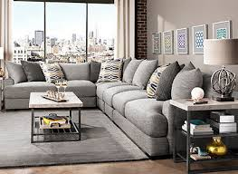 Raymour And Flanigan Chaise Leighton Contemporary Living Room Collection Design Tips U0026 Ideas