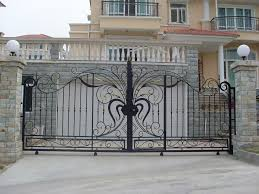 Chic House Main Gates Design Main Gate House