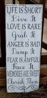 Inspirational Quotes Decor For The Home 2288 Best Sign Sign Everywhere Signs Images On Pinterest Pallet