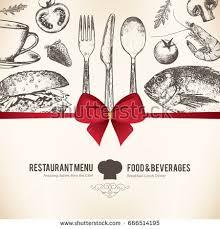 restaurant menu design vector menu brochure stock vector 666514195