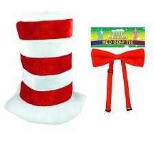 Cat In The Hat Costume Cat In The Hat Costume Ebay