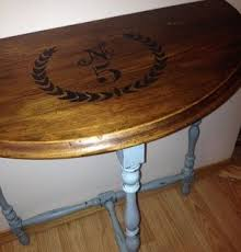 antique half moon table 65 best half moon table vintage images on pinterest painted