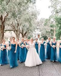 robin egg blue bridesmaid dresses 30 bridesmaids dresses in all shades of blue weddingomania