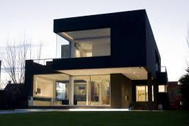 architects houses the black house by andres remy arquitectos caandesign