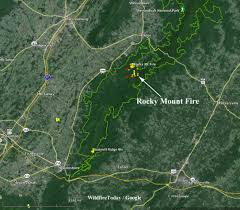 California Wildfire Rocky Fire by Rocky Mnt Fire In Shenandoah Np U2013 Wildfire Today