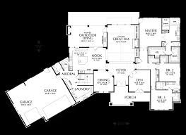 Jack And Jill House Plans Mascord House Plan 2471 The Braecroft