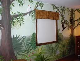 paintedaccent co rainforest mural