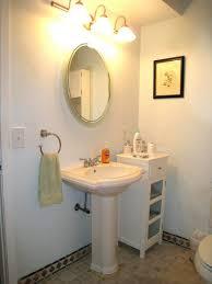 pedestal sink bathroom design ideas bathroom pedestal sink plumbing in cabinet diy