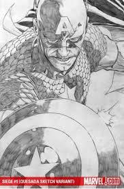 rare comics siege quesada sketch variants