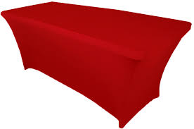 spandex table cover 5 ft rectangular spandex table cover fitted