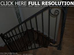 wrought iron stair railing kits home design styles exterior idaes