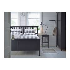 Hemnes Side Table Hemnes Bedside Table Black Brown Ikea